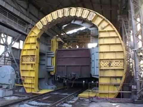 Full Video Of Rotary Dumper Wagon Tippler Operation