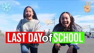 LAST DAY OF SCHOOL... (before winter break) + More Shopping!! Vlogmas Day 20!! Nicole Laeno
