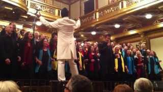 LONGFIELD GOSPEL | Wiener Musikverein | come on and sing