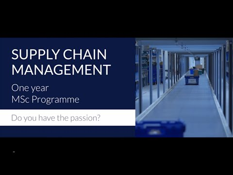 The RSM MSc in Supply Chain Management. Do you have the passion?