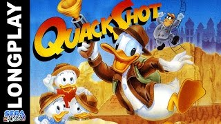 Quackshot: Starring Donald Duck (no damage) [Genesis Longplay] - SEGA Kidd