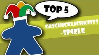 Top 5 Geschicklichkeitsspiele
