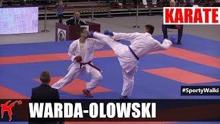 MP Karate WKF: Warda Kamil vs Olowski Szymon (Kumite Indywidualne Mężczyzn -84 KG)
