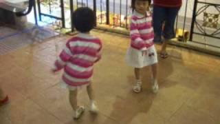 salsa samba dancing toddler