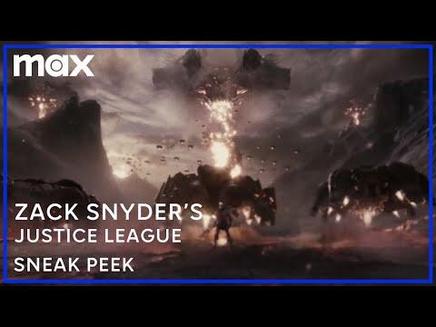 Zack Snyder's Justice League | Sneak Peek | HBO Max