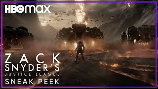 Zack Snyder's Justice League | Sneak Peek | HBO Max