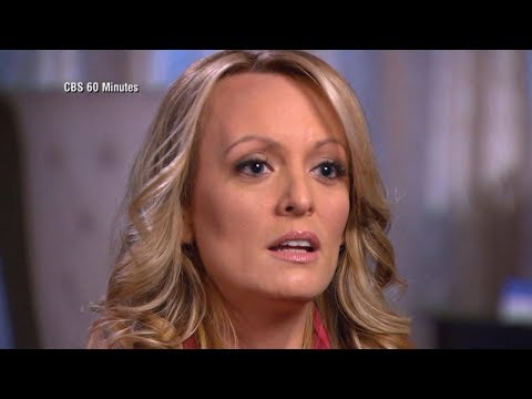 Porn star Stormy Daniels dishes about her alleged affair with President Trump
