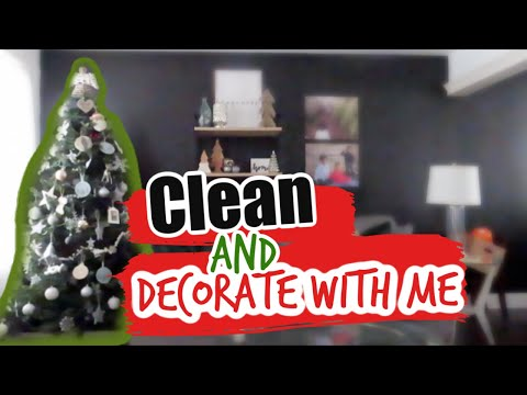 Modern Christmas Decor //  Clean and Decorate with me 2019