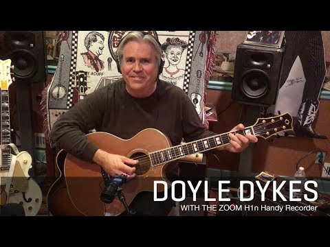 Doyle Dykes and the Zoom H1n