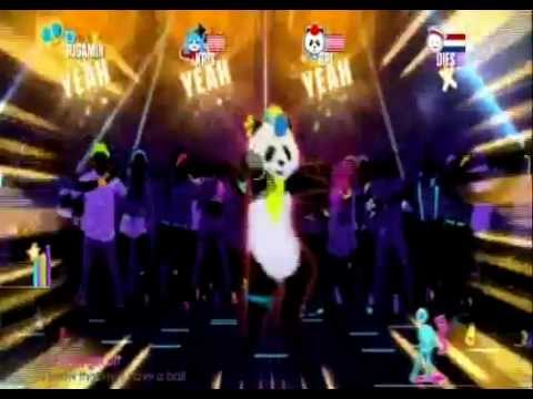 Just Dance 2016 I Gotta Feeling By The Black Eyed Peas (Wii)