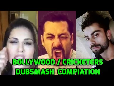 Best Bollywood / Cricketers Dubsmash Compilation ll VERY FUNNY ll MUST WATCH !