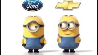 Ford VS Chevy Minion Style