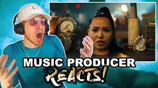 Download lagu Music Producer Reacts to Bella Poarch - Build a B*tch
