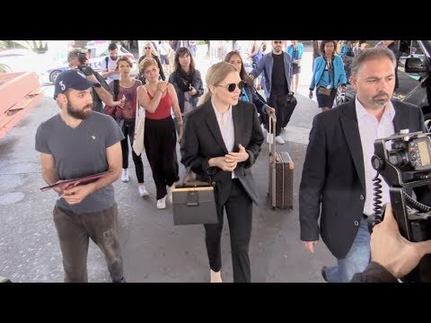 EXCLUSIVE : Jury member Lea Seydoux arriving in Cannes