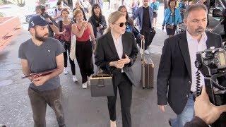 EXCLUSIVE : Jury member Lea Seydoux arriving in Cannes