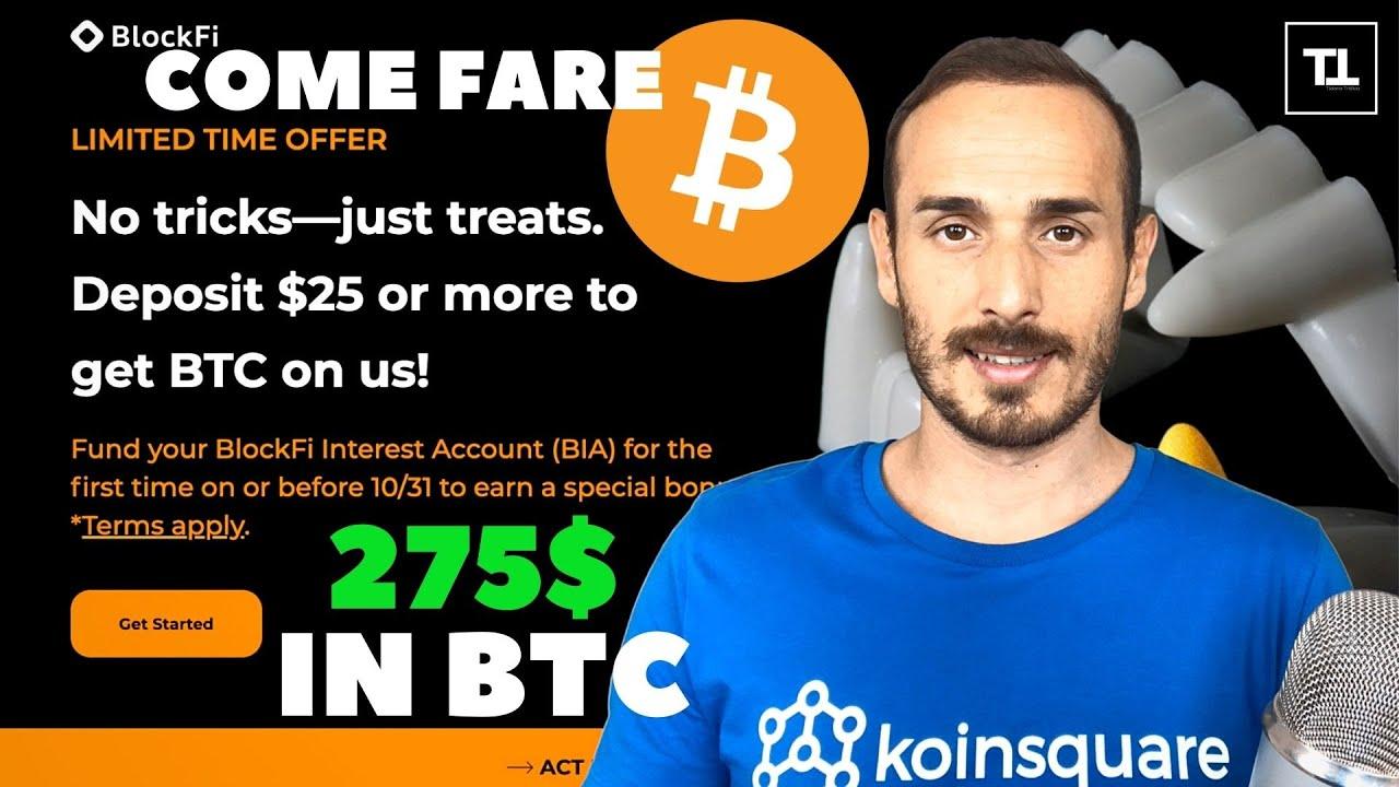 Bitcoin investe 1 €