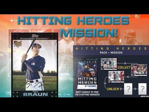NEW HITTING HEROES MISSION! UNLOCKS ROOKIE 95 OVR RYAN BRAUN! MLB THE SHOW 16 DIAMOND DYNASTY