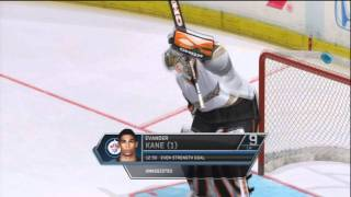 NHL 12 Winnipeg Jets First Ever Gameplay