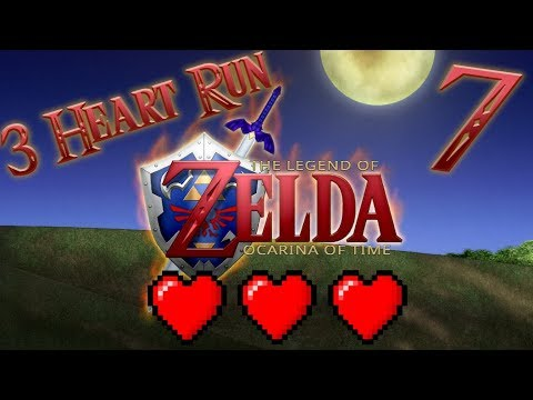 The Legend of Zelda: Ocarina of Time - 3 Heart Run (Part 7) Ruby and Fairy's - Solo Pod