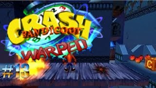Fuego en el camino arábico/Crash Bandicoot: Warped #13