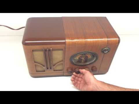 Antique Airline Radio Demonstration