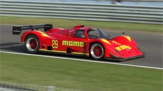 Gebhardt C91 Group C car, F1 V8!