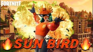 "My Favorite Skin in Fortnite Idk WhY ""Sun Bird"""