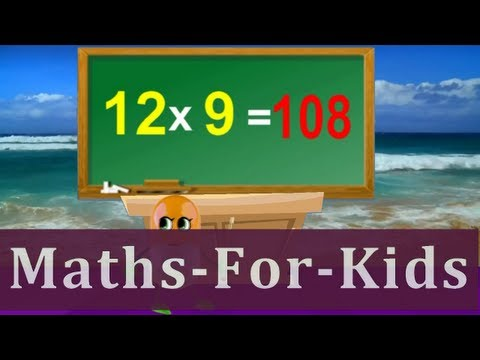 Tutorial  Sing Along 12 Times Table  Children Songs With Lyrics