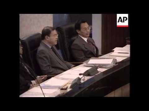THAILAND: THAI DEPUTY PM TO SHARE WTO LEADERSHIP