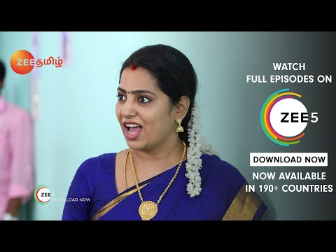 Poove Poochoodava   Best Scene   Episode - 468   Zee Tamil