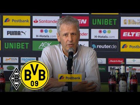 'Können mit 76 Punkten zufrieden sein' | PK mit Lucien Favre und Dieter Hecking | Gladbach - BVB 0:2