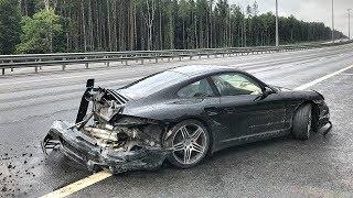 Разбил   Porsche 911 Drop Test