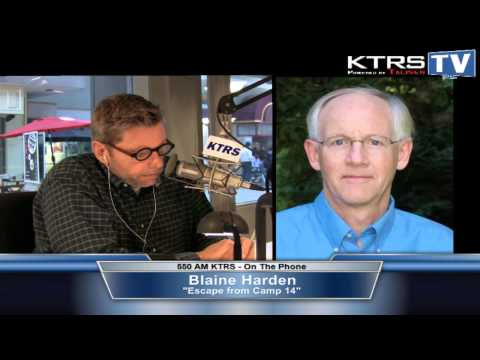 KTRS TV - Blaine Harden discusses his book Escape From Camp 14 with McGraw