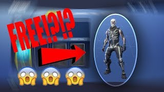 Fortnite how to get any outfit or item for free?!?!😱🤔😱🤔