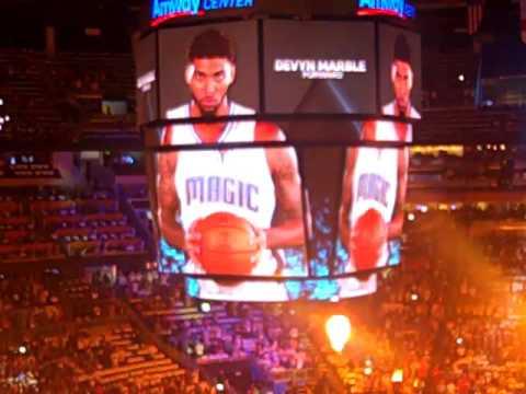 Orlando Magic 2015-16 Opening Night Intros