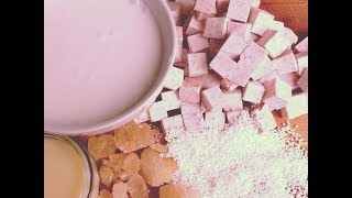 Taro And Coconut Tapioca Pearl Pudding 芋 頭 椰 奶 西 米 露