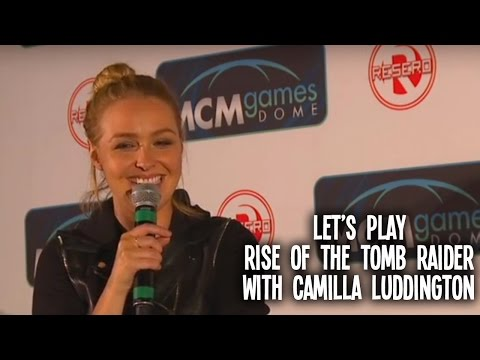 Let's Play Rise of the Tomb Raider with Camilla Luddington