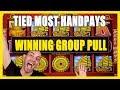 💵MOST HANDPAYS / WINNING Group Pull ✦ BCSlots