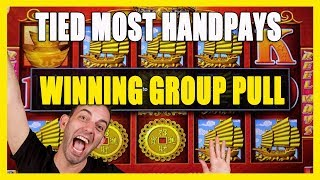 💵MOST HANDPAYS / WINNING Group Pull ✦ BCSlots