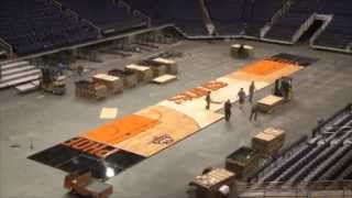 Suns Unveil New Court