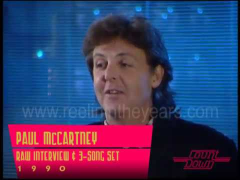 Paul McCartney- Raw interview and 3-song set (Beatles!) on C