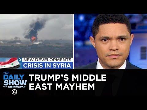 Trump's Mideast Move Creates Mayhem | The Daily Show