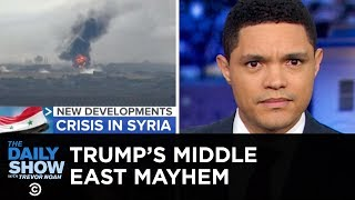 Trump's Mideast Move Creates Mayhem | The Daily Show