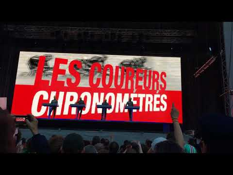 Kraftwerk - Tour de France 2003 - Étape 2 (Live 3D @ Ehrenhof, Düsseldorf 2017)
