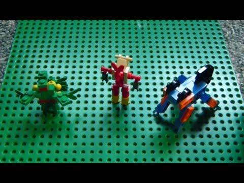 Lego Pokemon Instructions Part 8 Sceptile Blaziken And