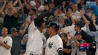 CLE@NYY Gm4: Hicks hits an RBI single to right-center