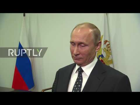 Russia: Putin urges greater trust between the US and Russia over Syria