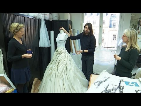 Behind the scenes of high fashion: Paris haute couture workshops
