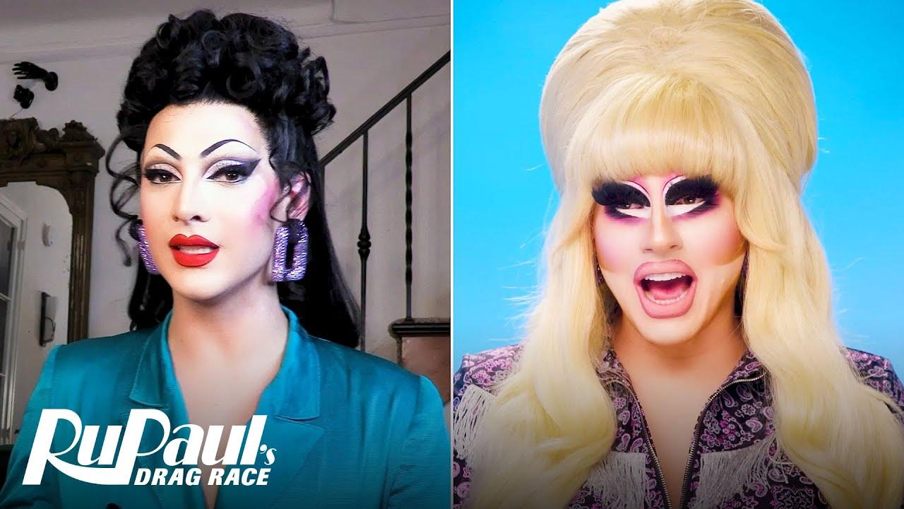 Download The Pit Stop S13 E5 | Trixie Mattel & Violet Chachki Judge 'The Bag Ball' | RuPaul's Drag Race
