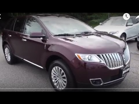 2011 Lincoln MKX 37 Walkaround, Start up, Tour and Overview